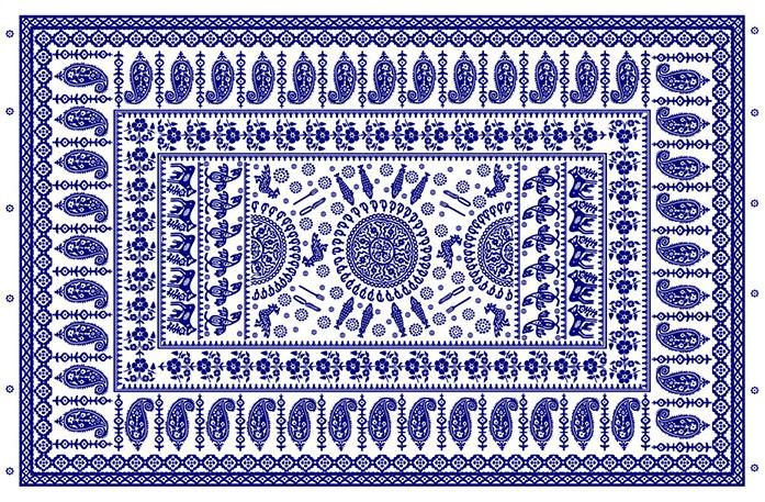 история орнамента турецкий огурец paisley