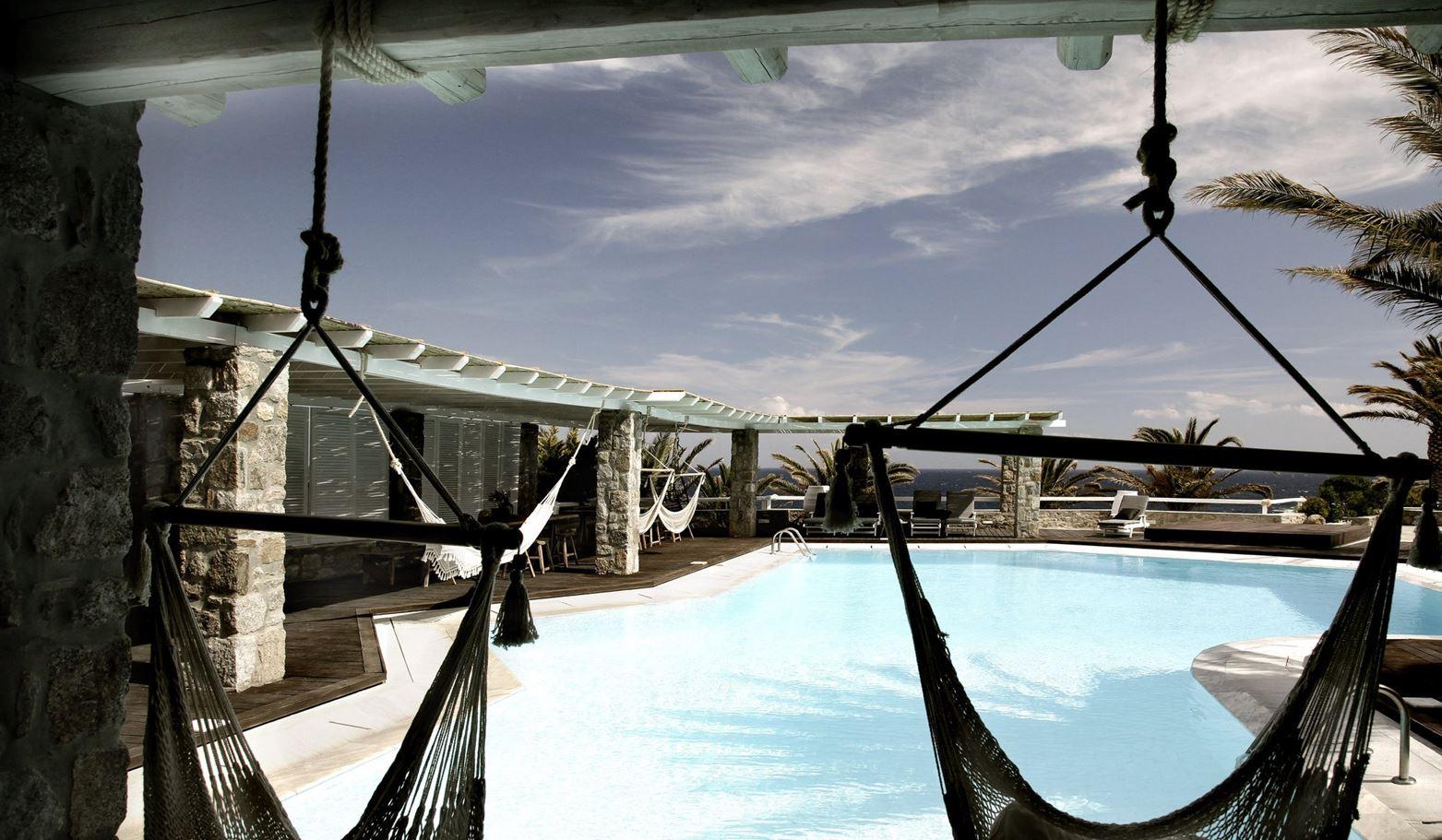 загородный отель в стиле современный прованс