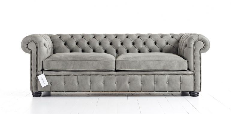 Chesterfield Классический диван с текстильной обивкой