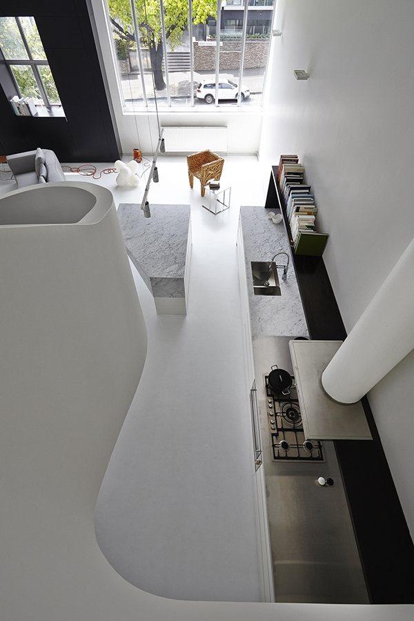 дизайн проект квартиры лофт в тбилиси