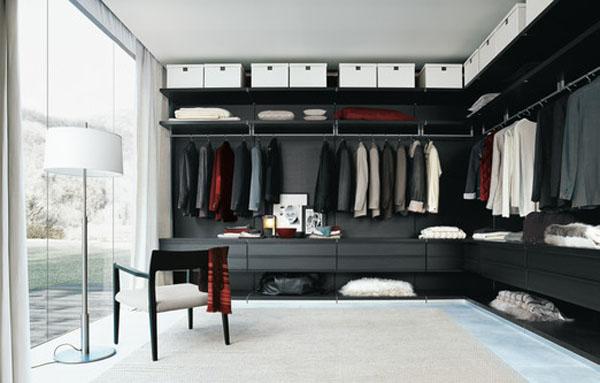 дизайн проект гардеробной комнаты в тбилиси