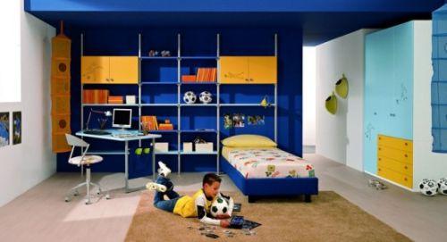 Дизайн комнаты для мальчика (парня)