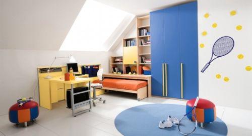 разработка дизайна комнаты для мальчика в тбилиси