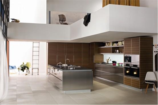 Дизайн проект кухни загородного дома или коттеджа в Тбилиси