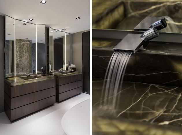 ванная комната эко гламур