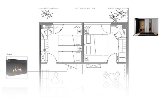 apartment design project Tbilisi