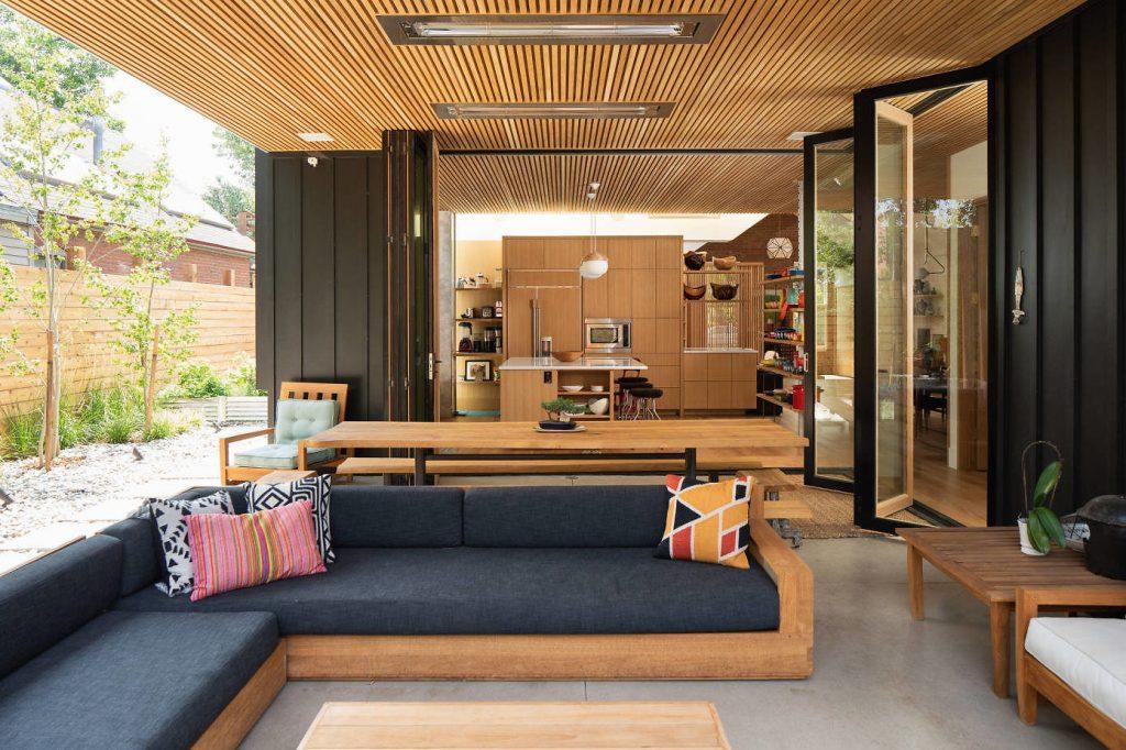 дизайн проект внутреннего дворика