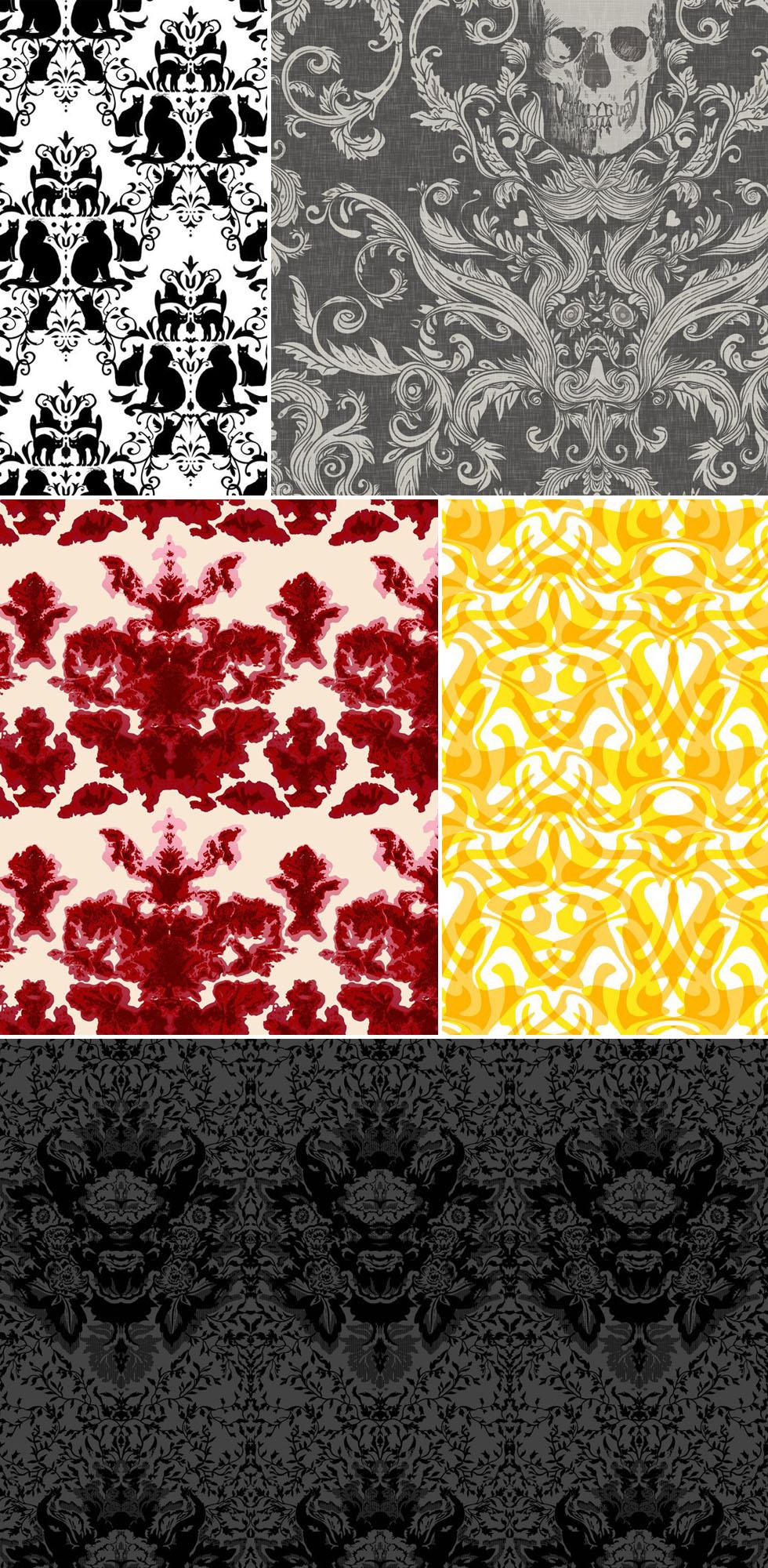 История дамасского орнамента