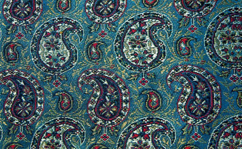 История орнамента «турецкий огурец» (Paisley)