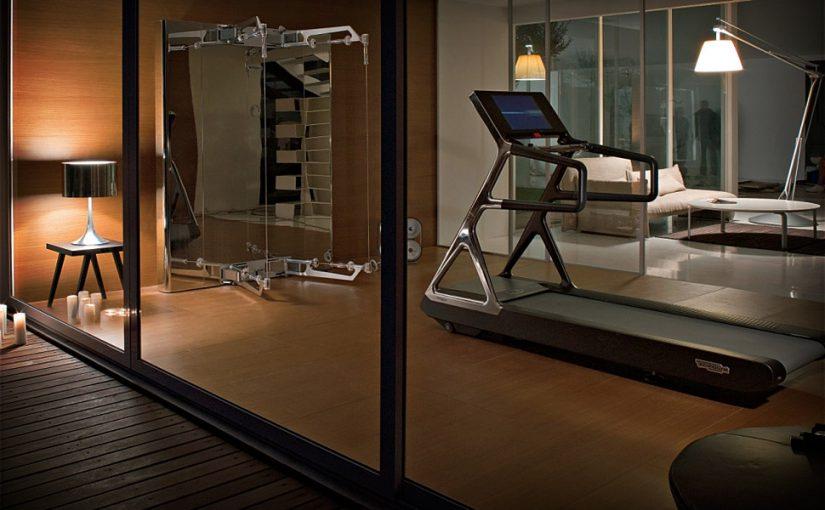 Частный фитнесс зал в коттедже или апартаментах
