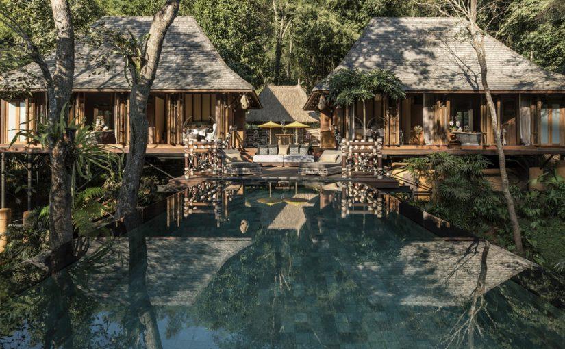 Проекты роскошных тропических отелей в стиле «рустик»
