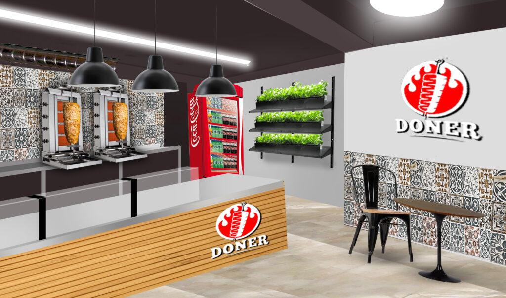 Портофолио (фото) процесса дизайна и ремонта кафе в Тбилиси