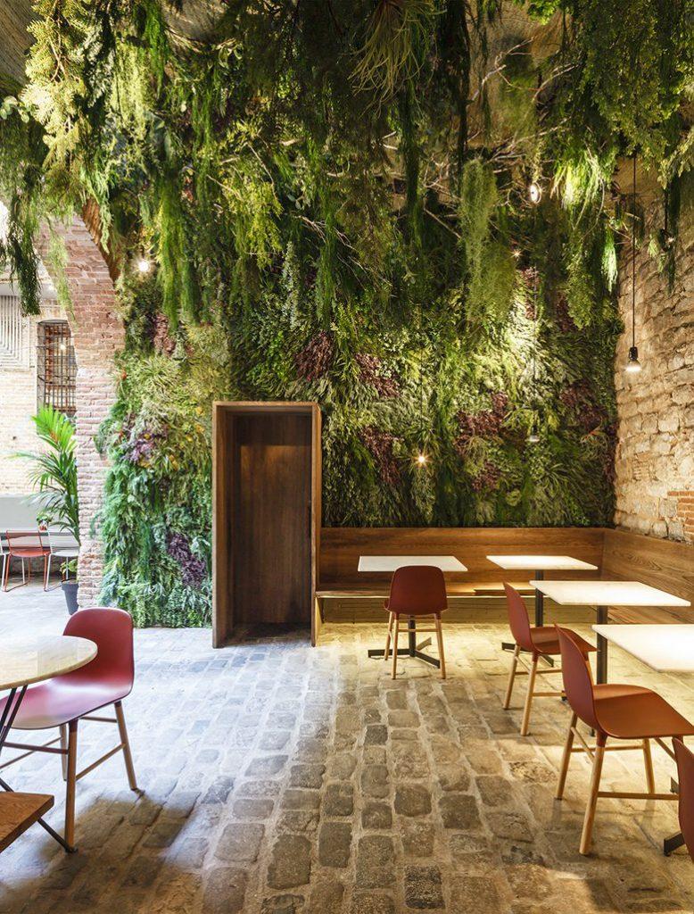 зонирование пространства ресторана и планирование посадочных мест